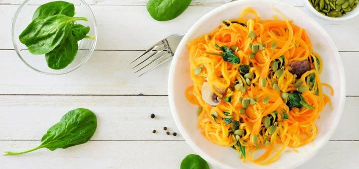 Curried Butternut Noodles