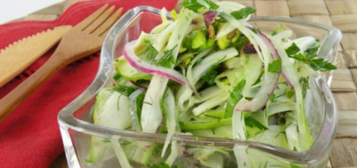 Fennel, Green Apple, & Pistachio Salad