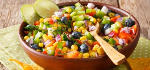 Vegan Zesty Lime Corn Salad