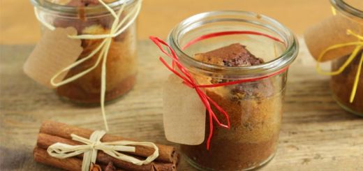 Gingerbread Cake In A Jar For 1
