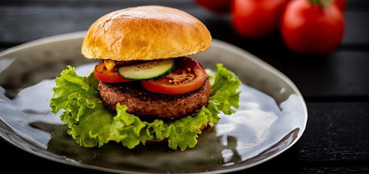 Black Rice & Mushroom Burgers