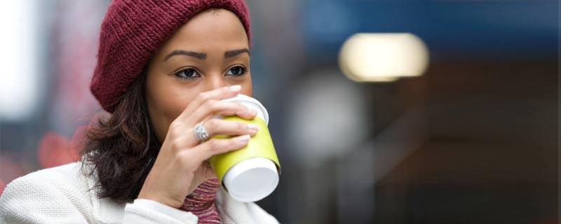 coffee-woman