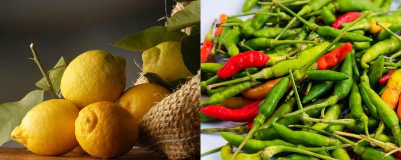 lemons-and-green-chilis