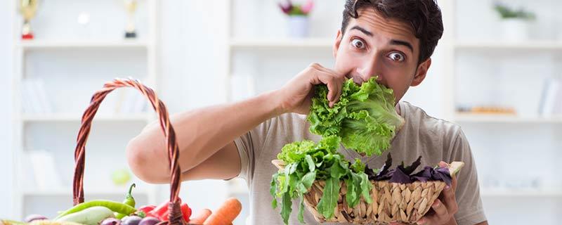 man-eating-lettuce