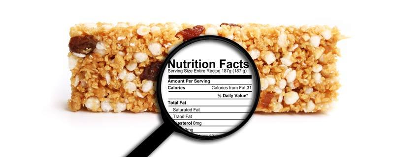 nutrition-label-granola-bar