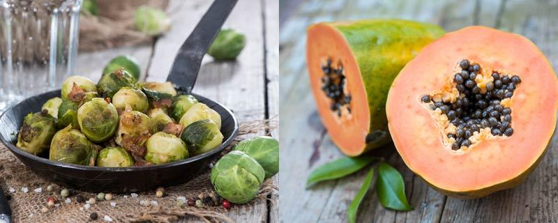 papaya-and-brussels