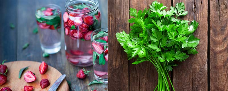 strawberry-parsley