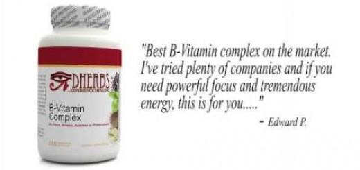 Dherbs B-Vitamin Complex