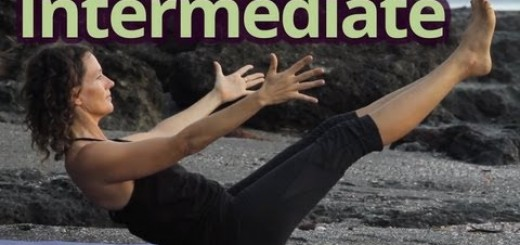 Dagmar Yoga Class #3 Vinyasa Flow – Intermediate – Energizing Sunrise Practice with Hang Music