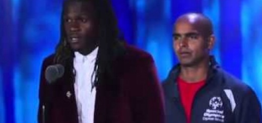 Jamaal Charles Special Olympics Speech 2015 |NFL| Discussing learning disability ..
