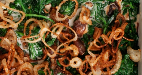 Coconut Creamed Spinach