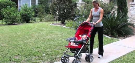 Mom and Baby Fitness: Stroller Exercises