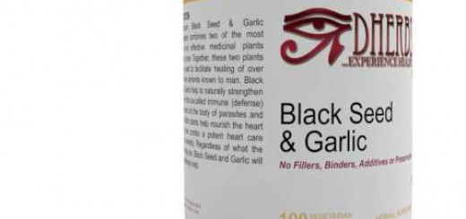 Dherbs Black Seed & Garlic