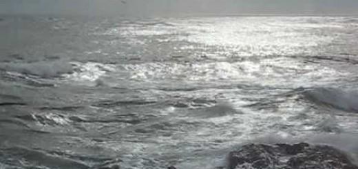 Great Yoga Meditation! Indian Drone w Ocean Waves Sound Music Relaxation (Devanagari Tambura)
