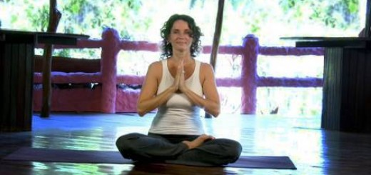 Morning Heart Expanding Practice ~ Intermediate Yoga Class ~ Full Length 49 minutes