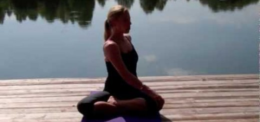 Yoga for Relaxation with Ashley Sky Litecky by Connie Bowman