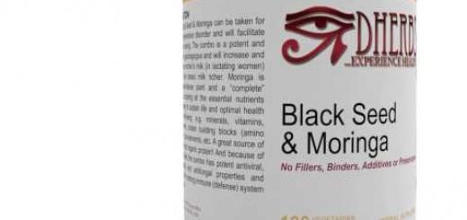 Dherbs Black Seed & Moringa