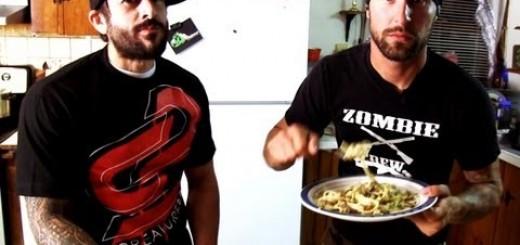 Vegan Fettuccine Alfredo – Cooking with the Vegan Zombie