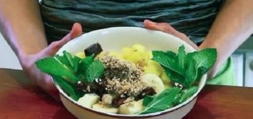 A Vegan Raw Coconut Oil Dessert : Raw Food Recipes