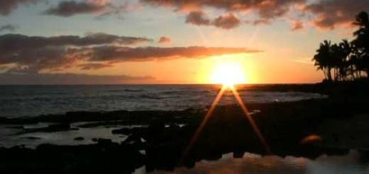 Soothing Relaxing Music – Whispering Sea & Sunset Kauai