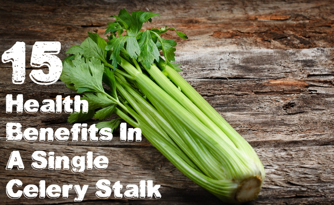 Alert: Celery, More than just Bloody Mary Garnish