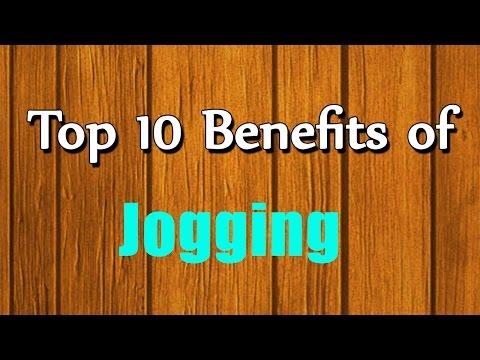 Top 10 Benefits of Jogging