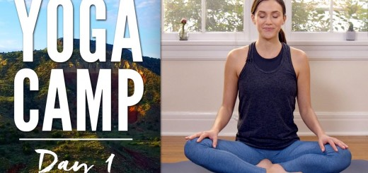 Yoga Camp Day 1 – I Accept