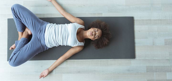 5 Restorative Yoga Poses To Help The Nervous System
