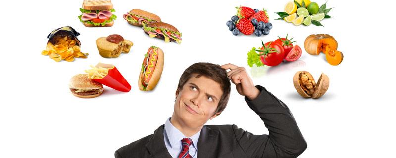 unhealthy-vs-health