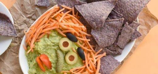 Witchy Guacamole Dip For Your Halloween Party