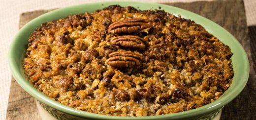 The Best Vegan Sweet Potato Casserole