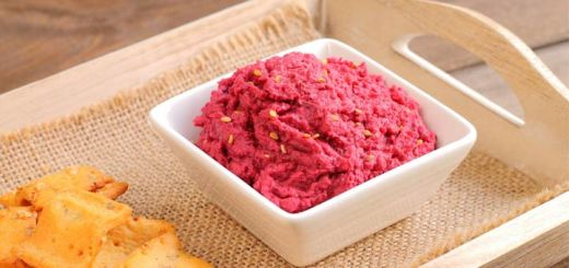 Spicy Cranberry Hummus For The Holidays