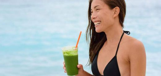 Glowing Skin Green Juice For National Green Juice Day