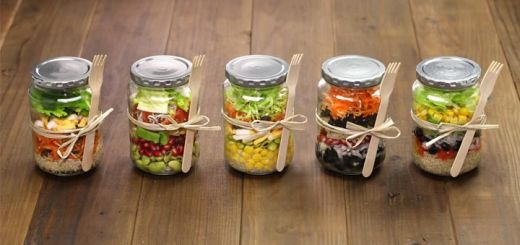 Meal Prep This Mason Jar Salad For Healthy Lunches All Week