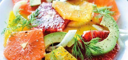 Golden Beet And Seasonal Citrus Salad