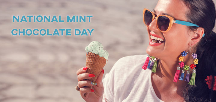 National Mint Chocolate Day 2017