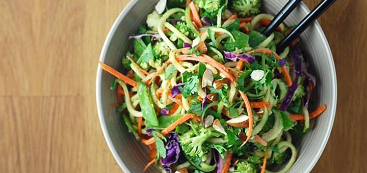raw-almond-salad