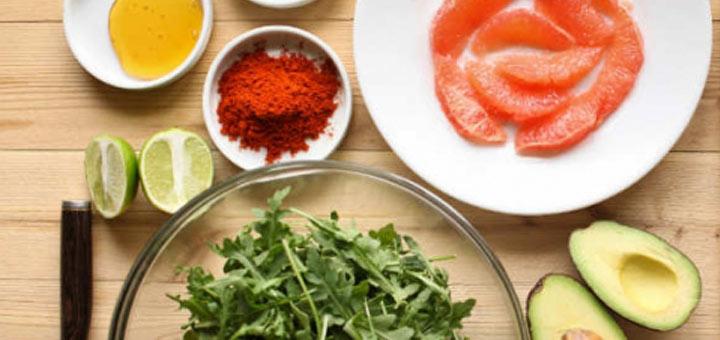 arugula-avocado-salad