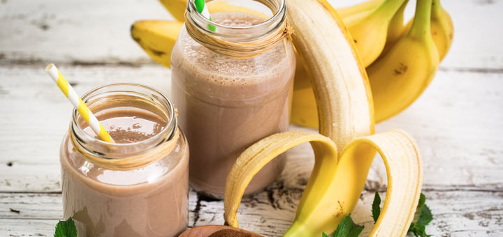 Banana Breakfast Choco Crunch Smoothie