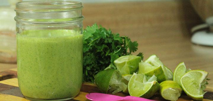 cilantro-lime-vinaigrette