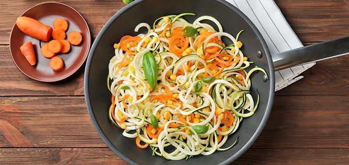 Thai Mixed Vegetable Noodle Salad