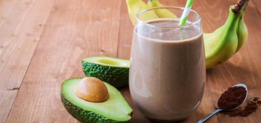 Chocolate Avocado Smoothie Tastes Like A Milkshake