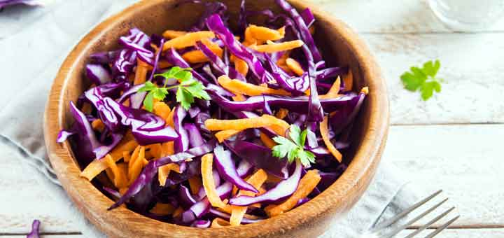 Perfect Prep Meal: Rainbow Ginger Raw Slaw