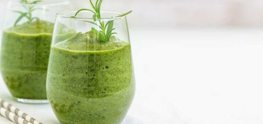 Green Elixir Smoothie With Cilantro & Kale