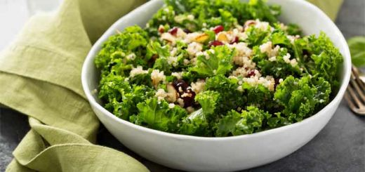 California Chopped Kale & Quinoa Salad