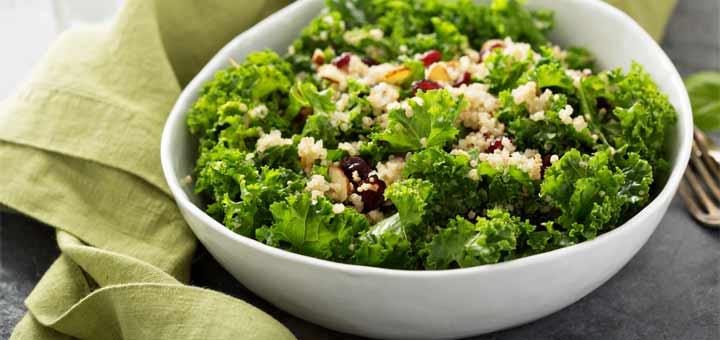 California Chopped Kale & Quinoa Salad