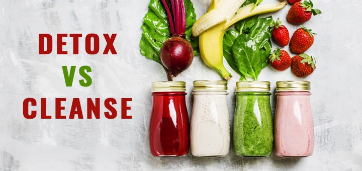 What's The Difference Between A Detox And A Cleanse?