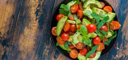 Tomato & Avocado Salad With Cilantro