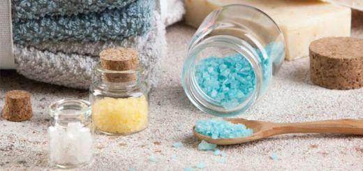 Soothing DIY Bath Salts For Cold & Flu Season