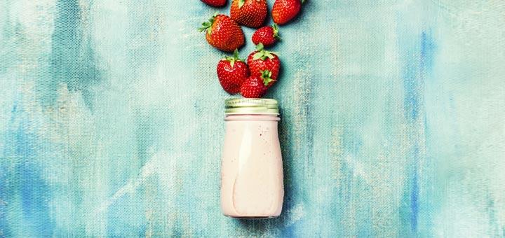 Strawberry Basil Salad Dressing